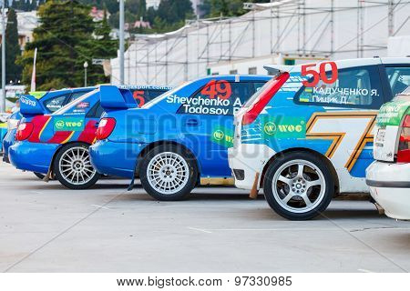 Yalta, Ukraine 09.13.2013. Wog Yalta Rally Fest.