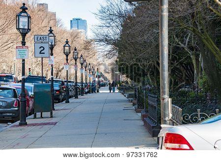 Boston Sidewalk