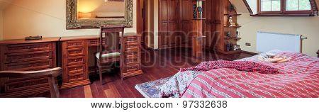 Dressing Table In Luxury Bedroom