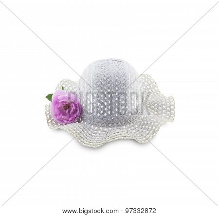 Pretty Hat With Flower