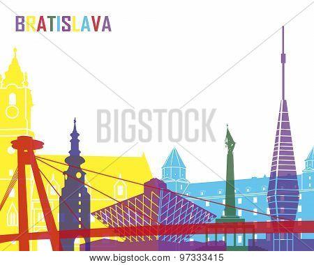 Bratislava Skyline Pop