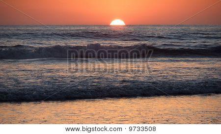 Halfsun Sunset
