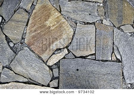 The Texture Of The Granite Stone