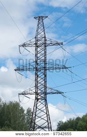 High Voltage Pillar And Wires 2