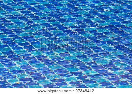 Beautiful Patterns In Swimming Pools.