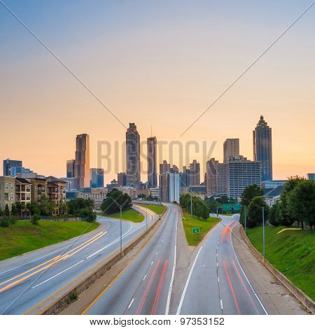 Image Of The Atlanta Skyline