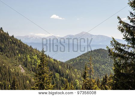 Pretty Range Of Mountains, Outdoors
