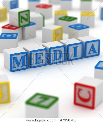 Colorful Block - Media