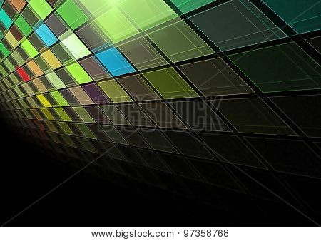 3d colorful grid background texture