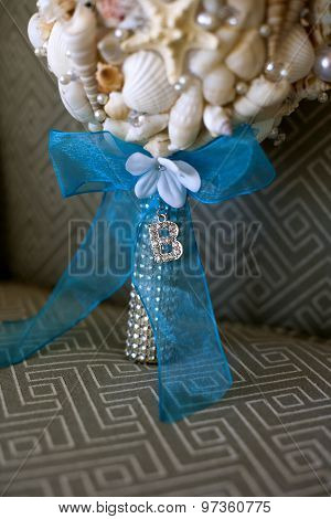 Bridal Bouque From Seashells