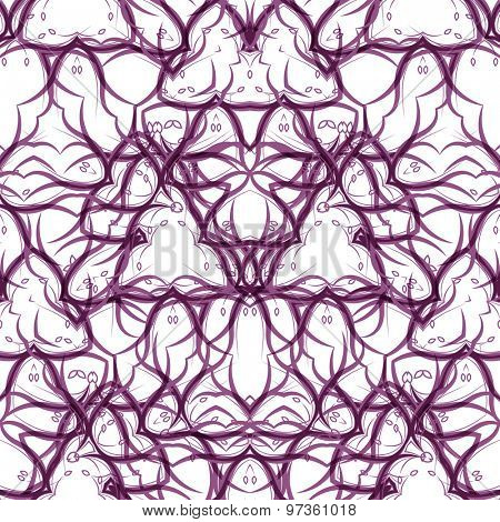 Seamless vector swirl pattern. Modern texture. Vector illustration