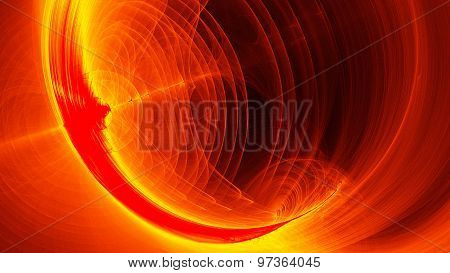 Dragon Fire Abstract Background