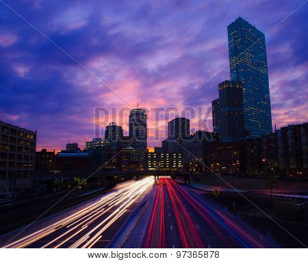Mass Pike in Boston