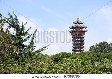 Jiutian Tower - Chengdu - Sichuan - China