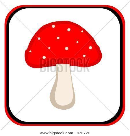 Stylized Mushroom
