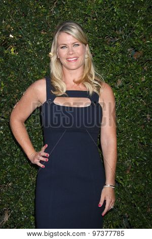 Gavin O'ConnorLOS ANGELES - JUL 29:  Alison Sweeney at the Hallmark 2015 TCA Summer Press Tour Party at the Private Residence on July 29, 2015 in Beverly Hills, CA