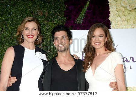 Gavin O'ConnorLOS ANGELES - JUL 29:  Brenda Strong, David Alpay, Rachel Boston at the Hallmark 2015 TCA Summer Press Tour Party at the Private Residence on July 29, 2015 in Beverly Hills, CA
