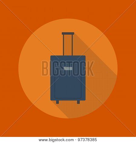 Travel Flat Icon. Luggage