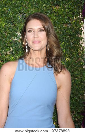 LOS ANGELES - JUL 29:  Sarah Lancaster at the Hallmark 2015 TCA Summer Press Tour Party at the Private Residence on July 29, 2015 in Beverly Hills, CA
