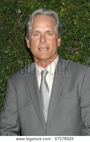LOS ANGELES - JUL 29:  Gregory Harrison, daughter at the Hallmark 2015 TCA Summer Press Tour Party at the Private Residence on July 29, 2015 in Beverly Hills, CA