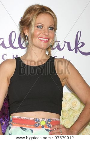 LOS ANGELES - JUL 29:  Candace Cameron Bure at the Hallmark 2015 TCA Summer Press Tour Party at the Private Residence on July 29, 2015 in Beverly Hills, CA