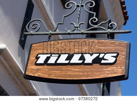Tilly's Store And Sign