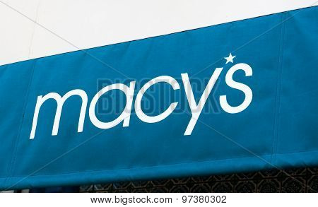 Macy's Store And Sign