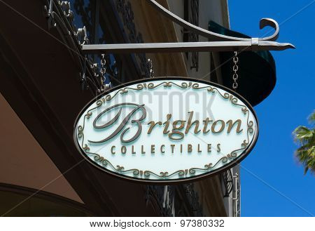 Brighton Collectibles Store And Sign