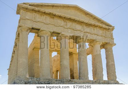 Temple of Concord, Valley of the Temples, Agrigento