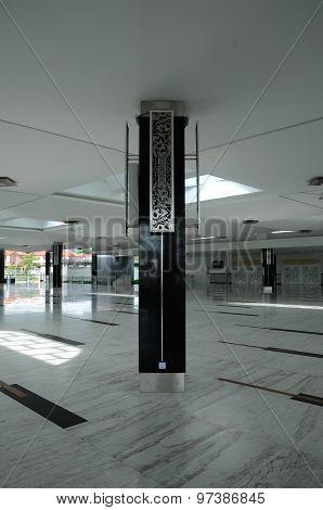 Column detail at Puncak Alam Mosque at Selangor, Malaysia