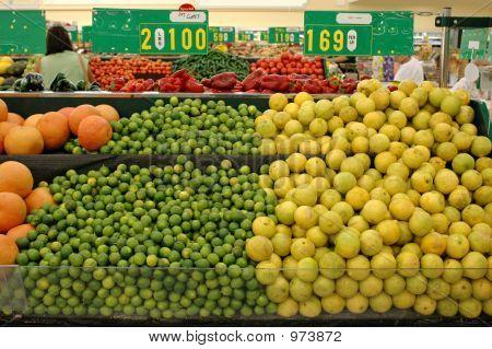Limes And Lemons