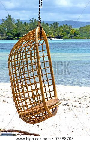 Lagoon Seat Osier  Seaweed In Nosy Be Indian