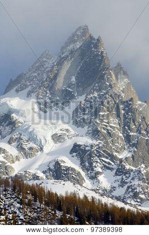 Aiguille du Blaitiere, 3522 m, Aiguilles du Chamonix, Mont Blanc Massif, Alps, Chamonix, France