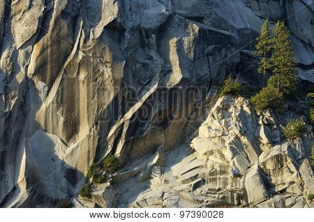 Liberty Cap in Yosemite National Park, California, United States.