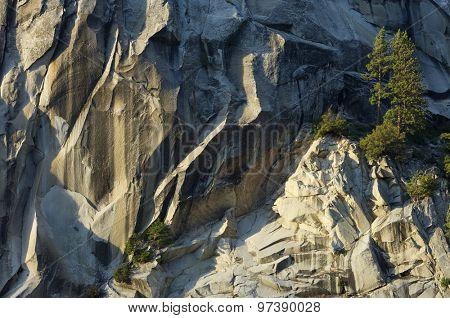 Liberty Cap in Yosemite National Park, California, United States.