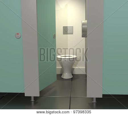 Public Toilets.