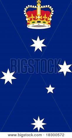 Victoria State Badge
