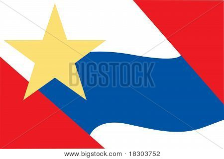 Lafayette City Flag