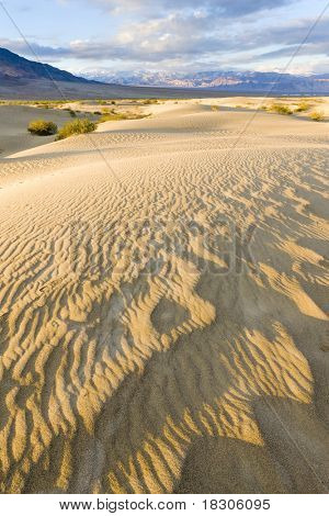 Stovepipe Wells sand dunes, Death Valley National Park, California, USA