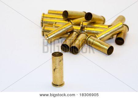 .38 caliber shell casings