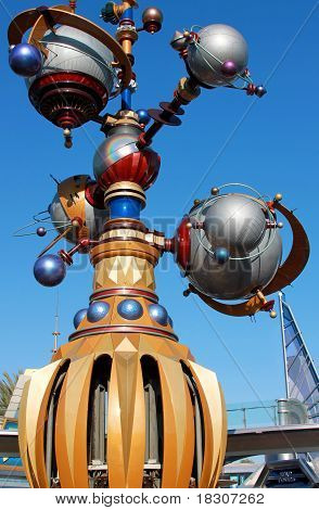 Astro Orbitor Ride Disneyland