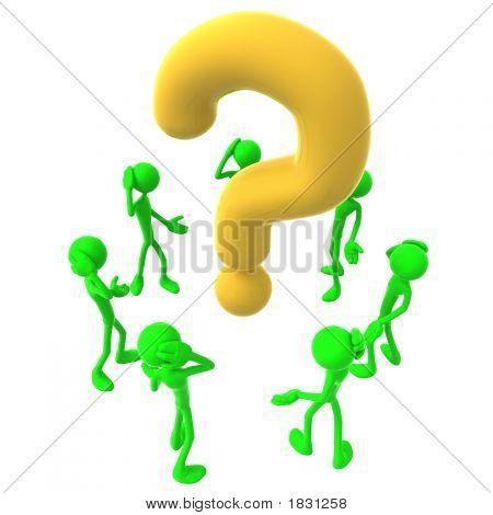 Men Around Question