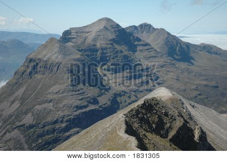 View From Beinn Eighe, Scotland
