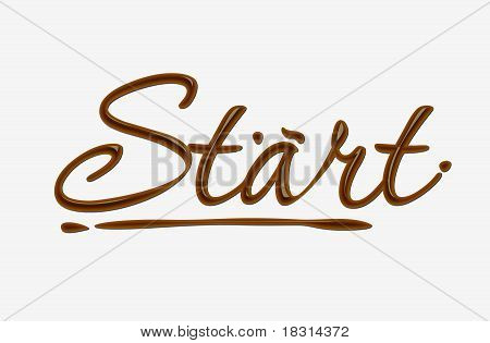 Chocolate Starr Text