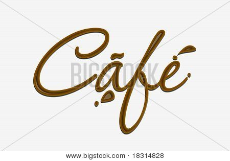 Chocolate Cafe Text