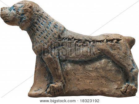 Mesopotamian Clay Dog
