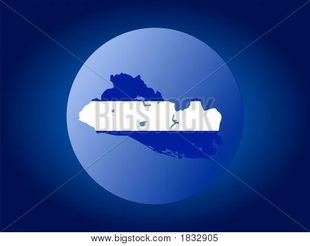 El Salvador Globe