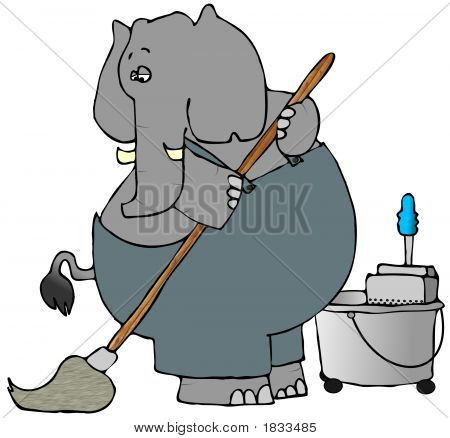 Elephant Mopper