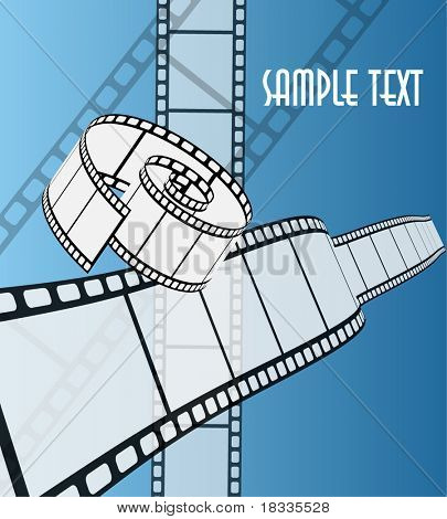 Cinema vector background