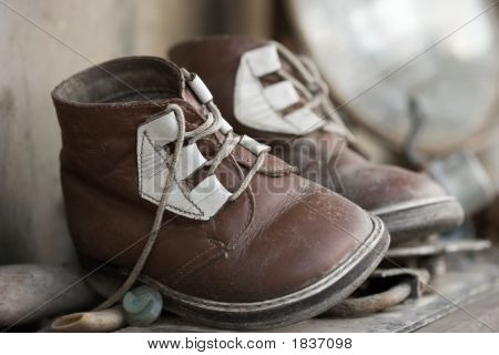 Old Chid'S Shoes